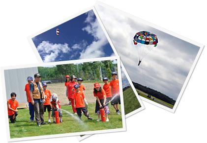 千歳航空少年団の活動イメージ画像