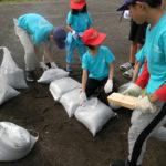 土のう作成・積み方実習